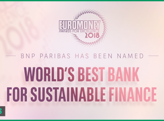BNP Paribas uitgeroepen tot 'world's best bank for sustainable finance'